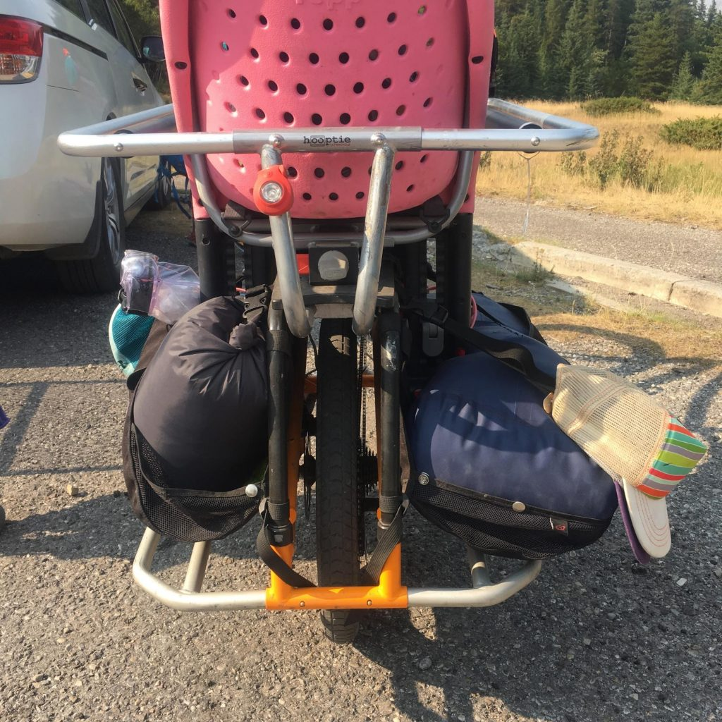 bike camping with the xtracycle edgerunner