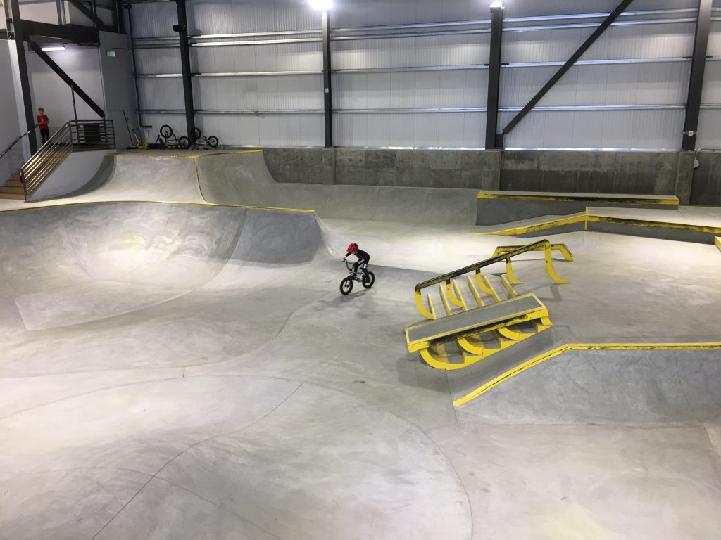 indoor bike parks