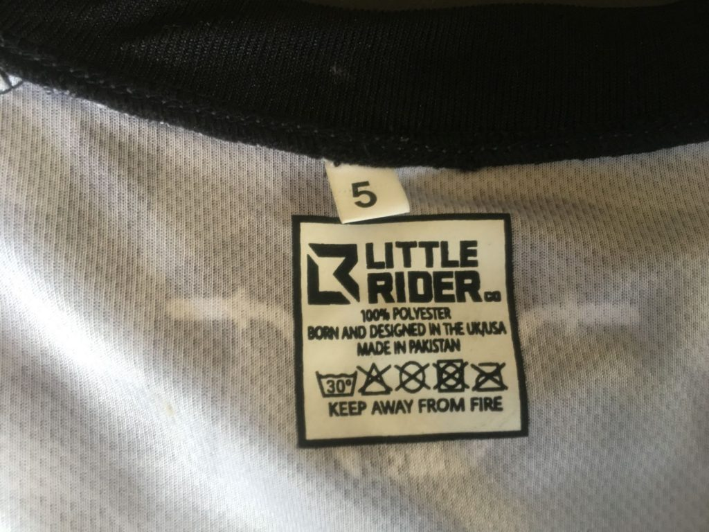little rider co tag