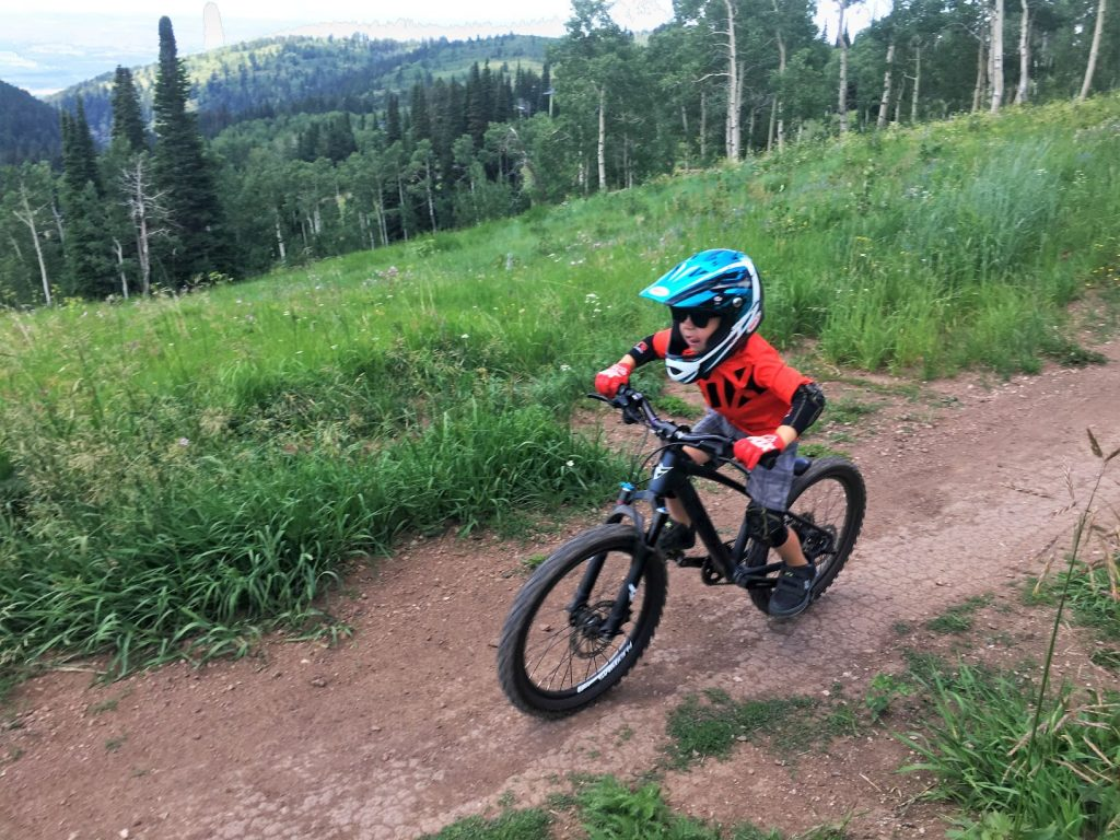 Prevelo Zulu Three at Targhee Bike Park