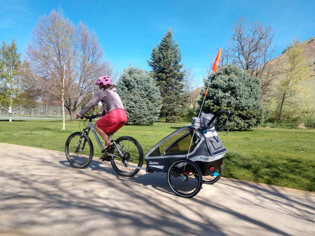 qeridoo kidgoo bike trailer