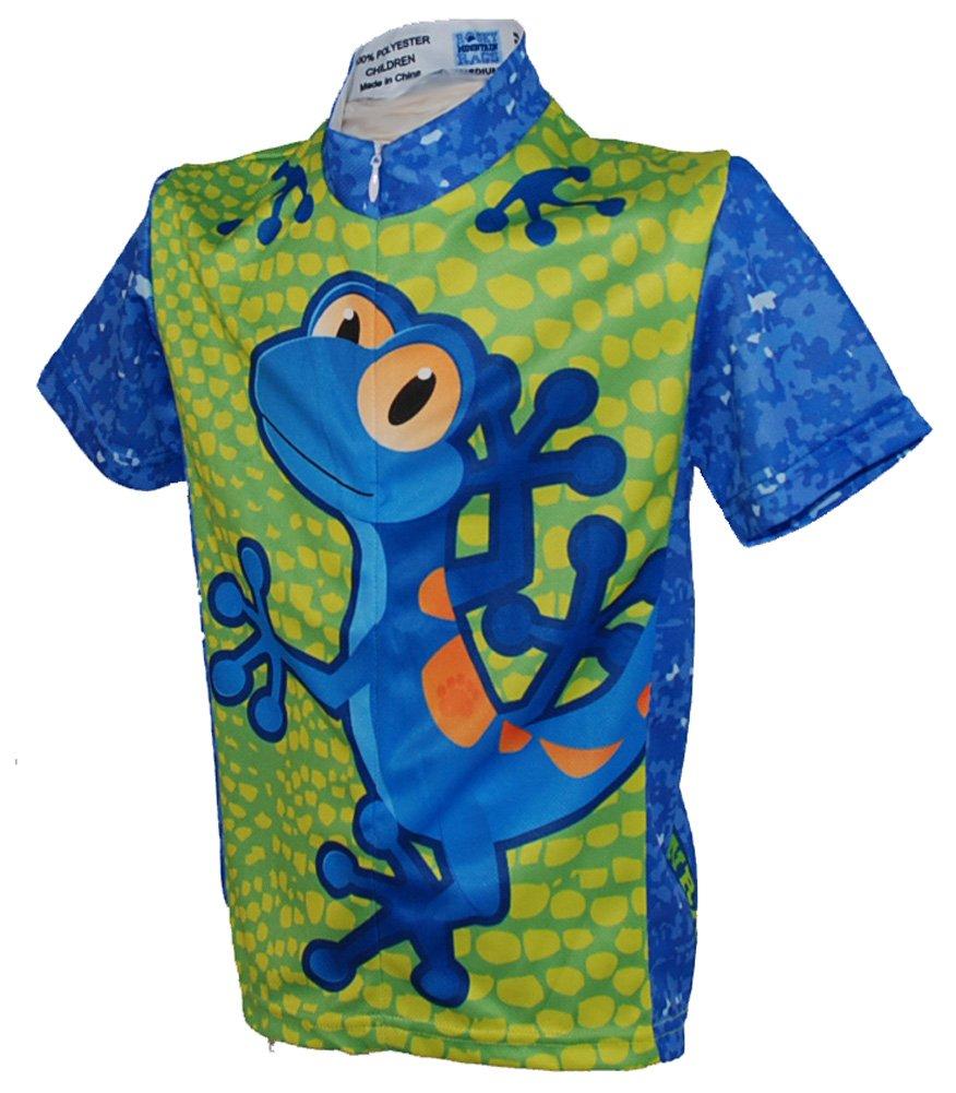 rocky mountain rags gecko children's cycling jersey