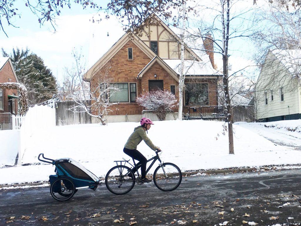 thule chariot cross bike trailer