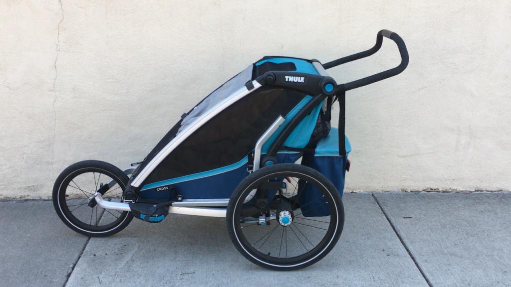 thule chariot cross jogging kit