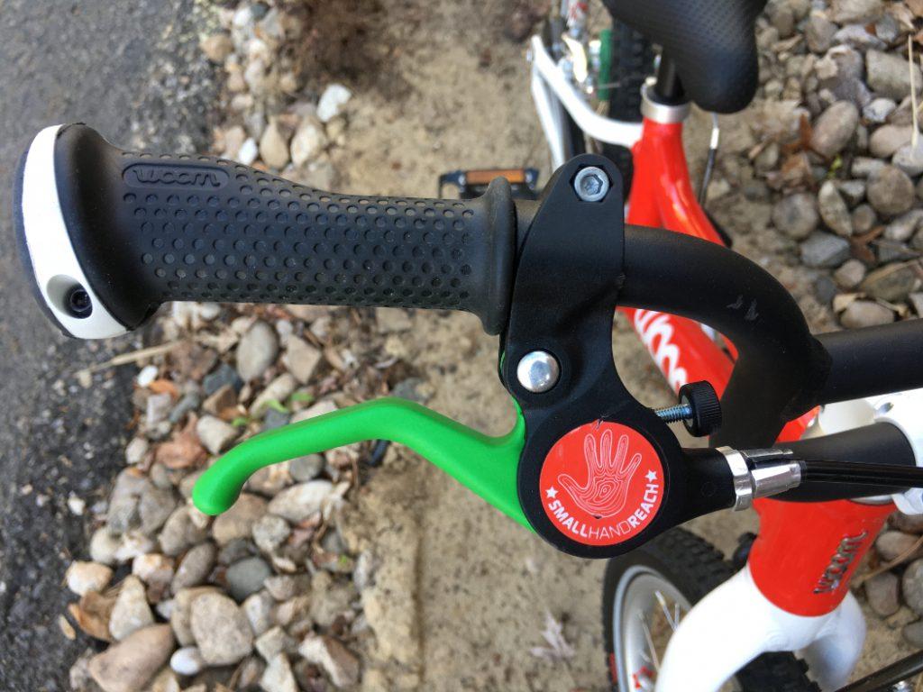woom 2 color coded brake lever