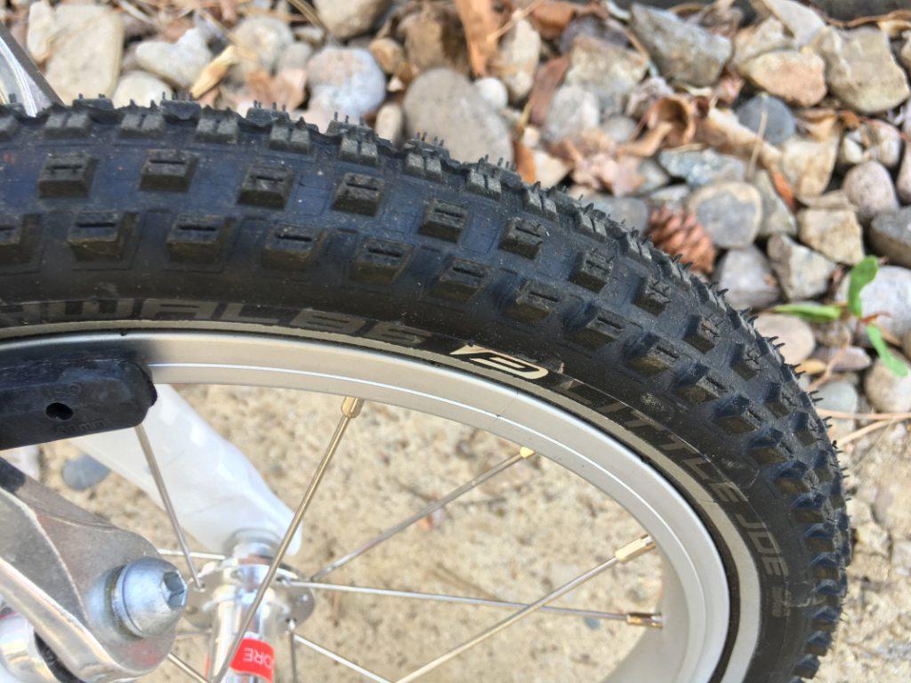 woom 2 tire