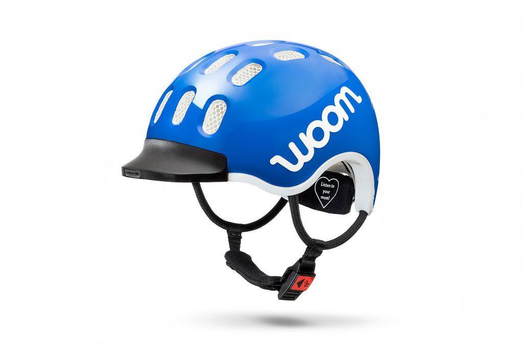 woom helmet blue