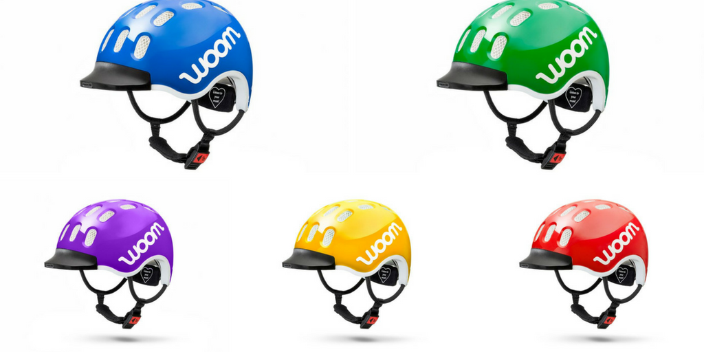 woom helmet colors