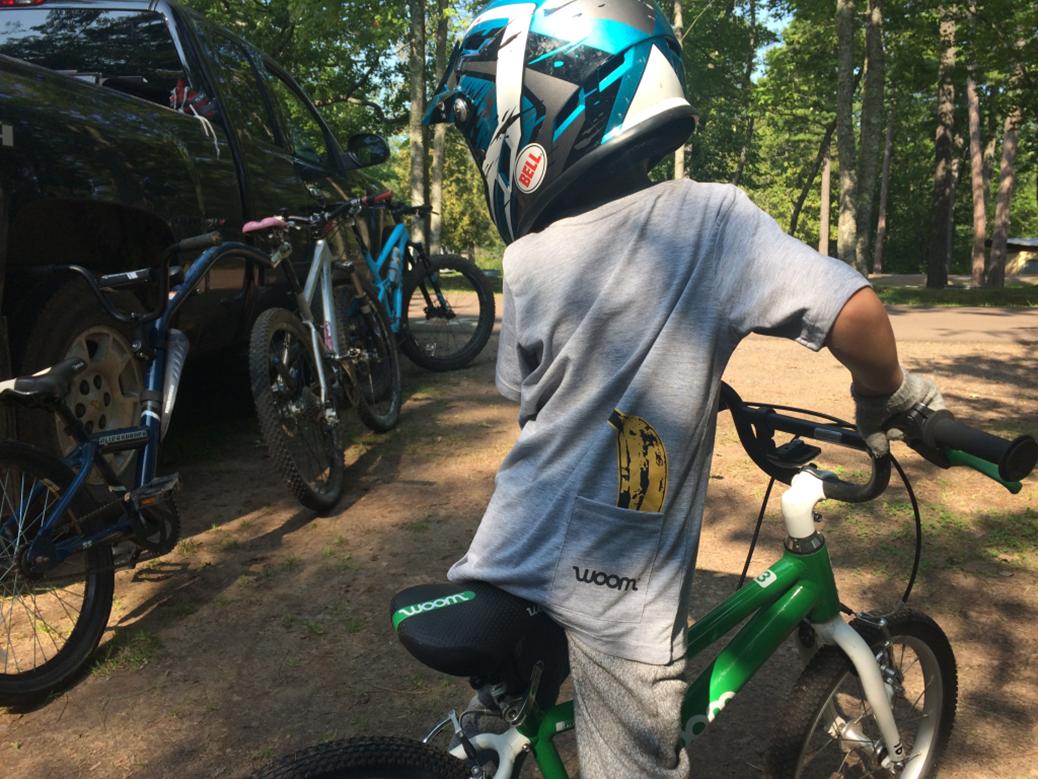 woom kids mountain bike jersey
