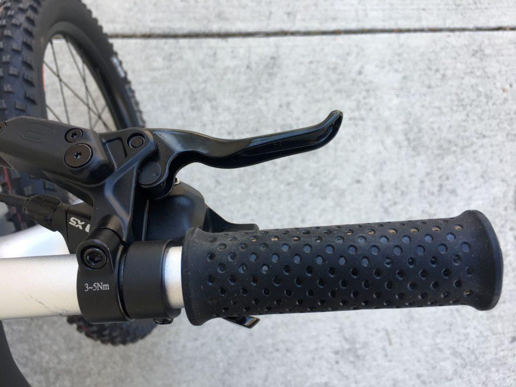 woom off brake lever