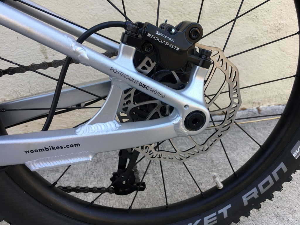 woom off disc brake